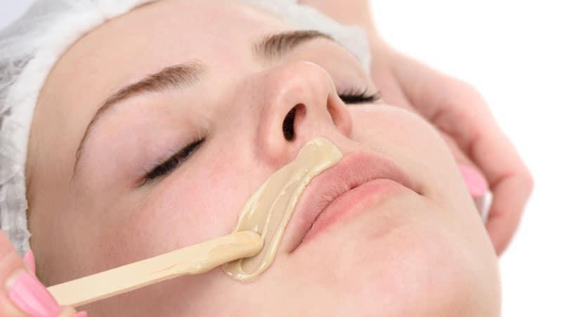hårborttagning ansikte